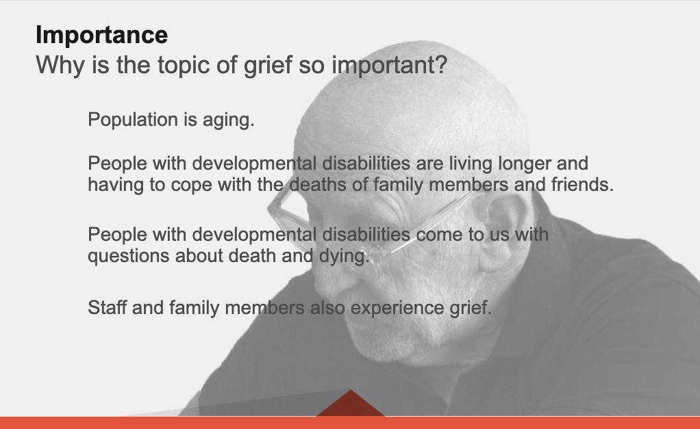 Grief and Bereavement presentation